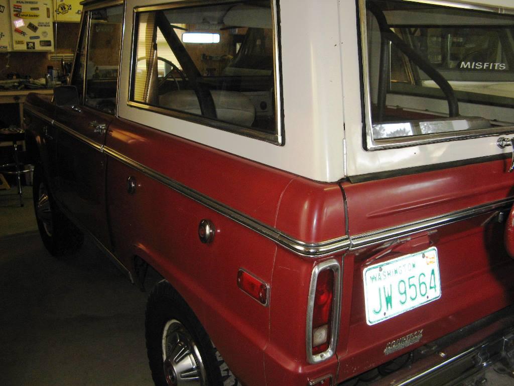 Help Us Find This Stolen 1970 Ford Bronco