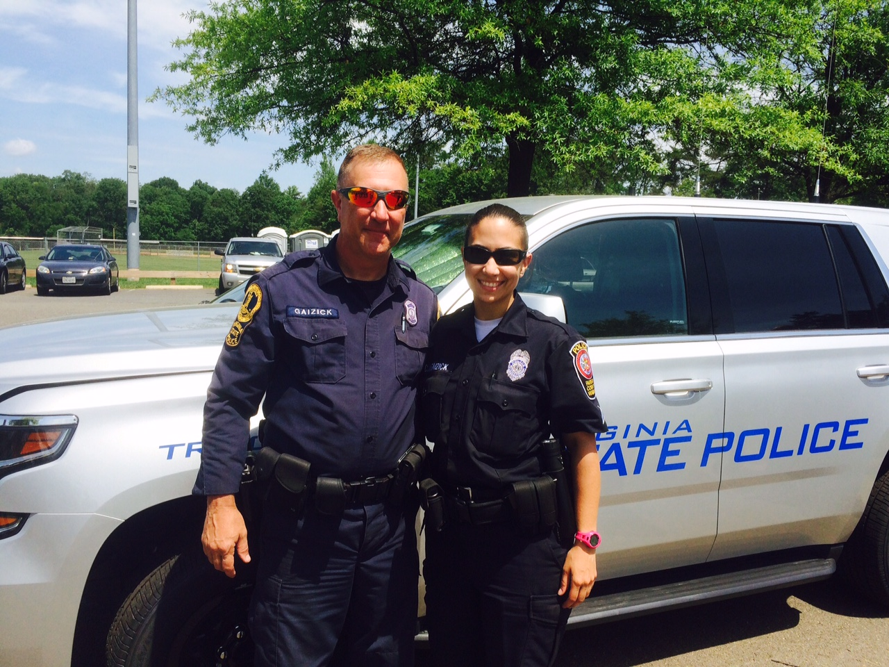 Police Cite Trucks in Annual Safety Effort   Fairfax County Police