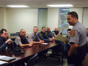 Officers and troopers were briefed at the FCPD Operations Support Bureau prior to the enforcement/education effort.