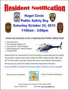 102315,Hagel Circle Public Safety Day Flyer