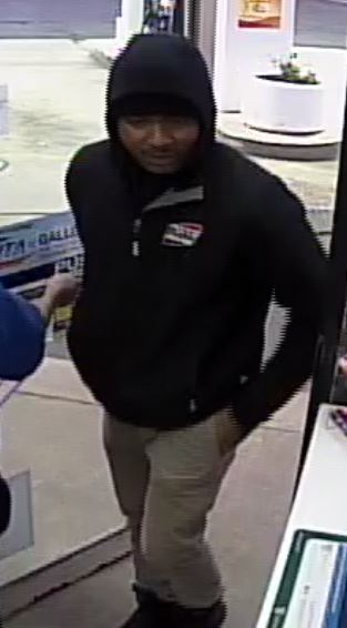 Holly Rd Exxon Robbery Suspect 1