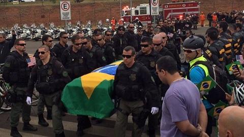 July Brazilian Officer