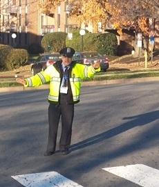 Crossing guard circa 2015