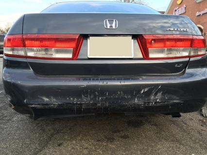 Damage to Victim's Vehicle