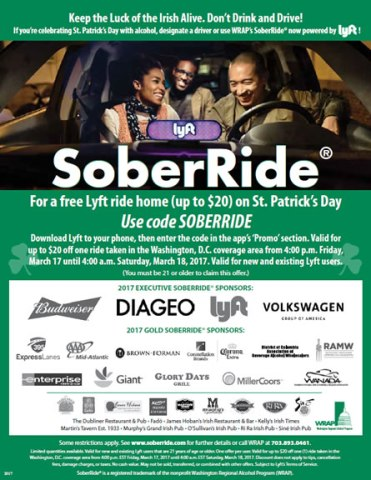 031717,StPattysDay,SoberRideFlyer