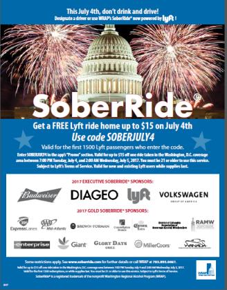 Sober Ride July 4 English