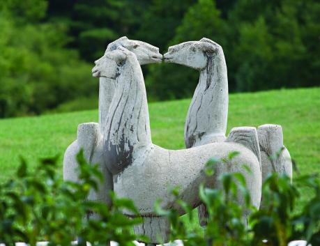 011618, Llama Statue 2