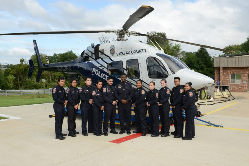 of becoming a police officer, so we're excited to