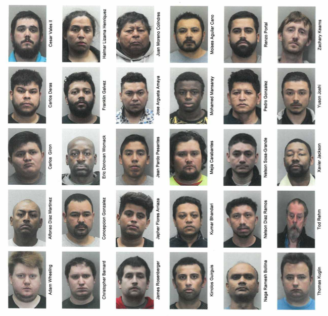 Fairfax Police Arrest 30 Accused Child Predators in Online Sting